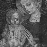 Giacomo Jaquerio, Madonna col bambino. Lanzo Torinese (TO), casa privata.